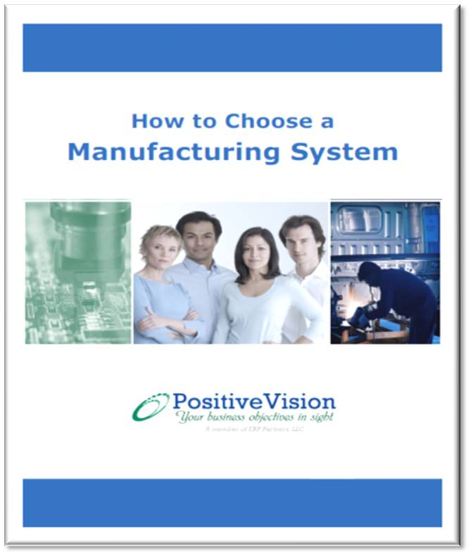 erp manufacturing software