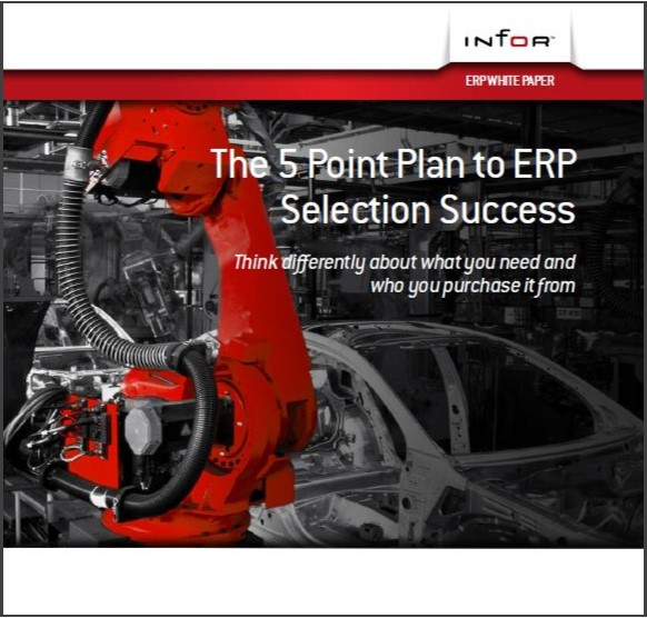 5 Point Plan to ERP Selection Success