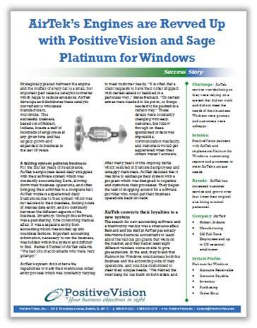 Sage Platinum for Windows