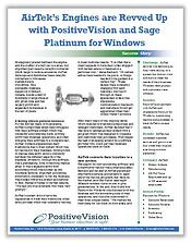 Sage Platinum for Windows PositiveVision AirTek SS Image