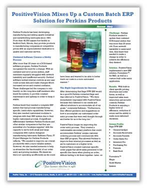 Sage Platinum for Windows PositiveVision GPC SS Image