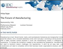 Future of Manufacturing Whitepaper