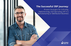SYSPRO - The Successful ERP Journey IMAGE